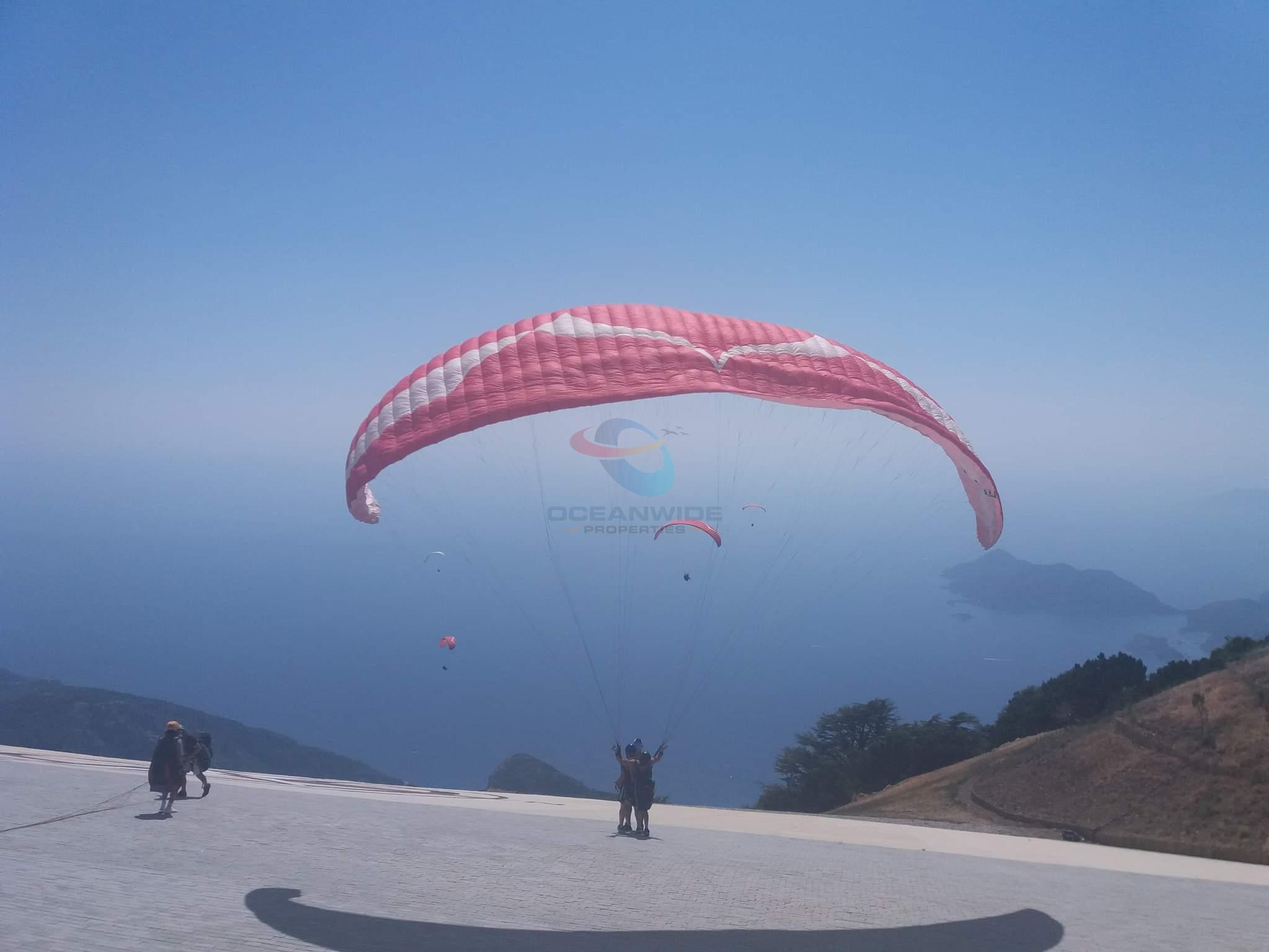 Paragliding off Babadağ
