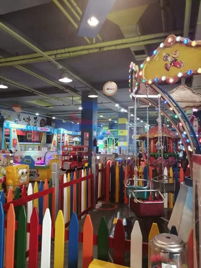 Erasta children's play area